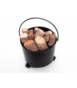 Cubo Portaleña con ruote EFP15