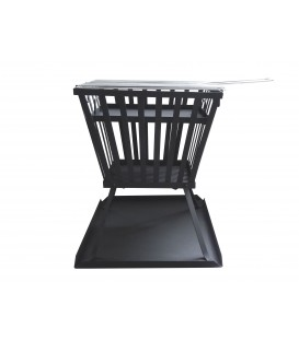 Outdoor Holzpfanne mit Barbecue-Grill EFP3