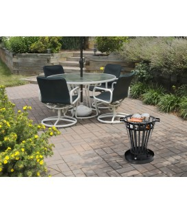 Outdoor Holzpfanne mit Barbecue-Grill EFP6