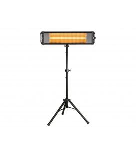 Riscaldatore a infrarossi a pavimento o parete per uso interno o esterno HEATY EXC 25