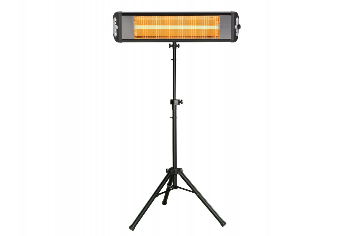Calefactor infrarrojo de pie o muro para uso interior o exterior HEATY EXC 25