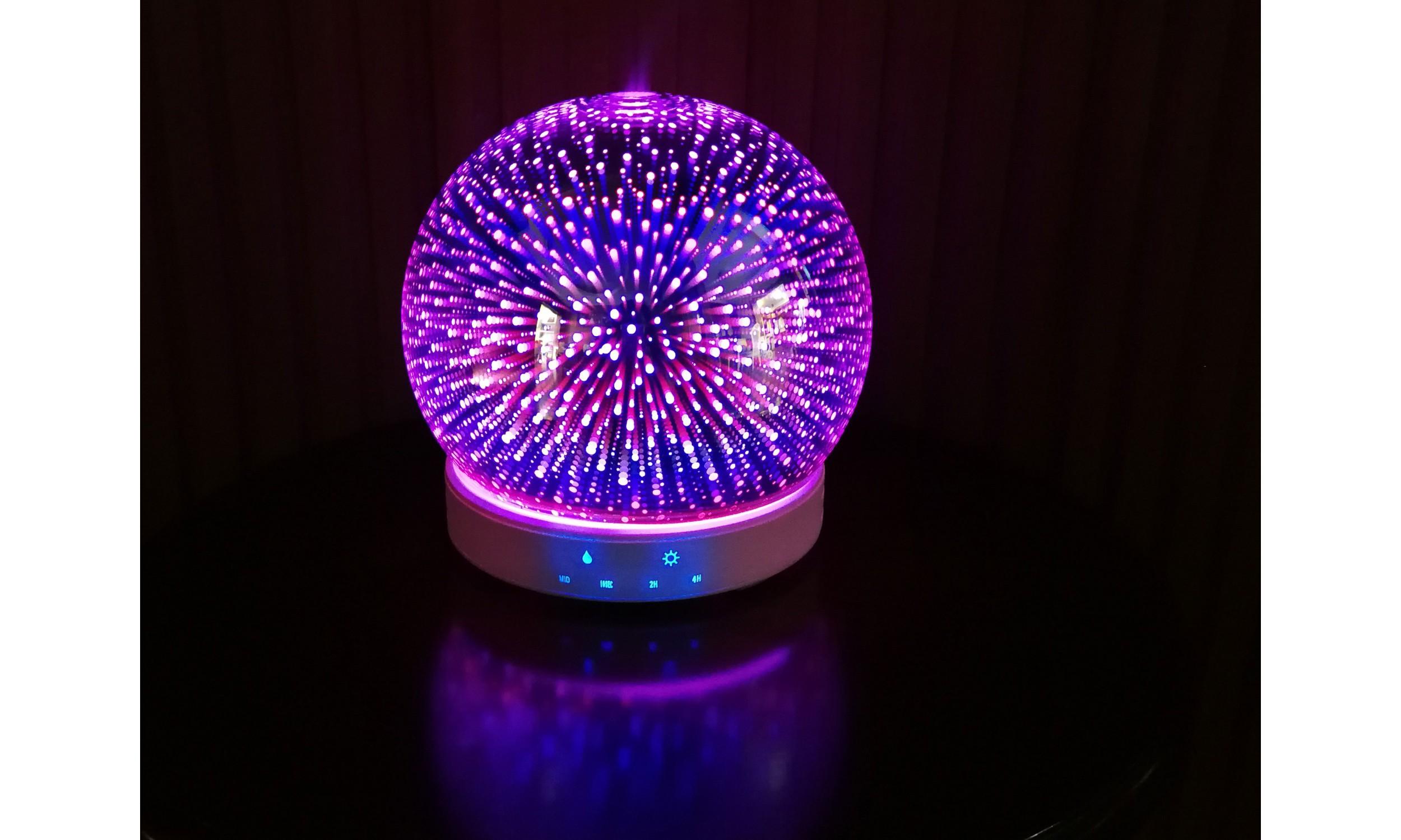 Diffuseur d'arômes en verre à effet 3D SUMU 20 GLASS E